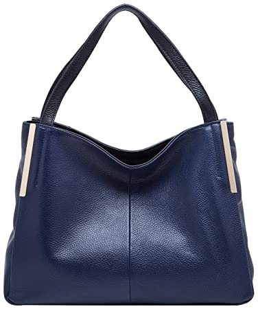3d9b78f20f Amazon.com  BOYATU Leather Handbags Crossbody Shoulder Bags for Women  Elegant Satchel Totes (Blue)  Boyatu