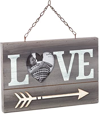 Love and Heart-Shaped Photo Picture Frame Picture Frames Milestones