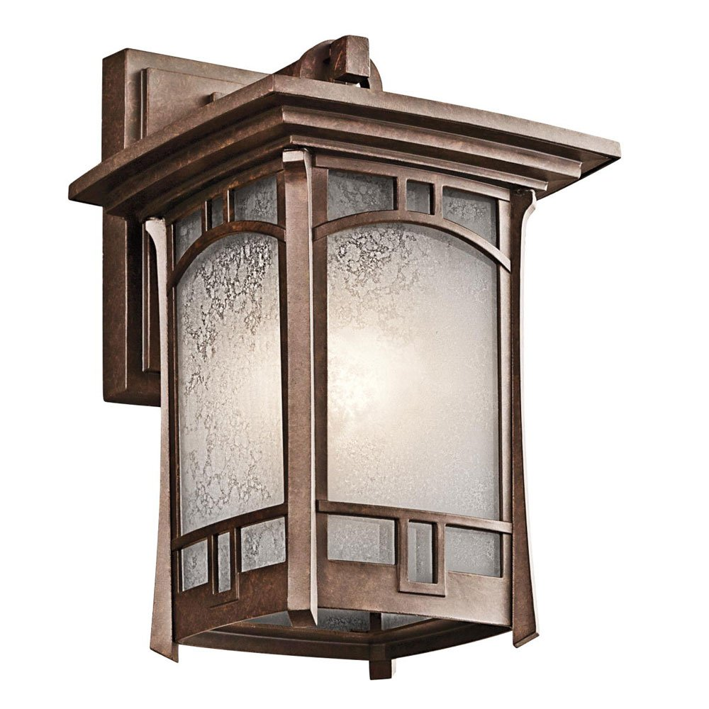 Kichler 49450AGZ One Light Outdoor Wall Mount