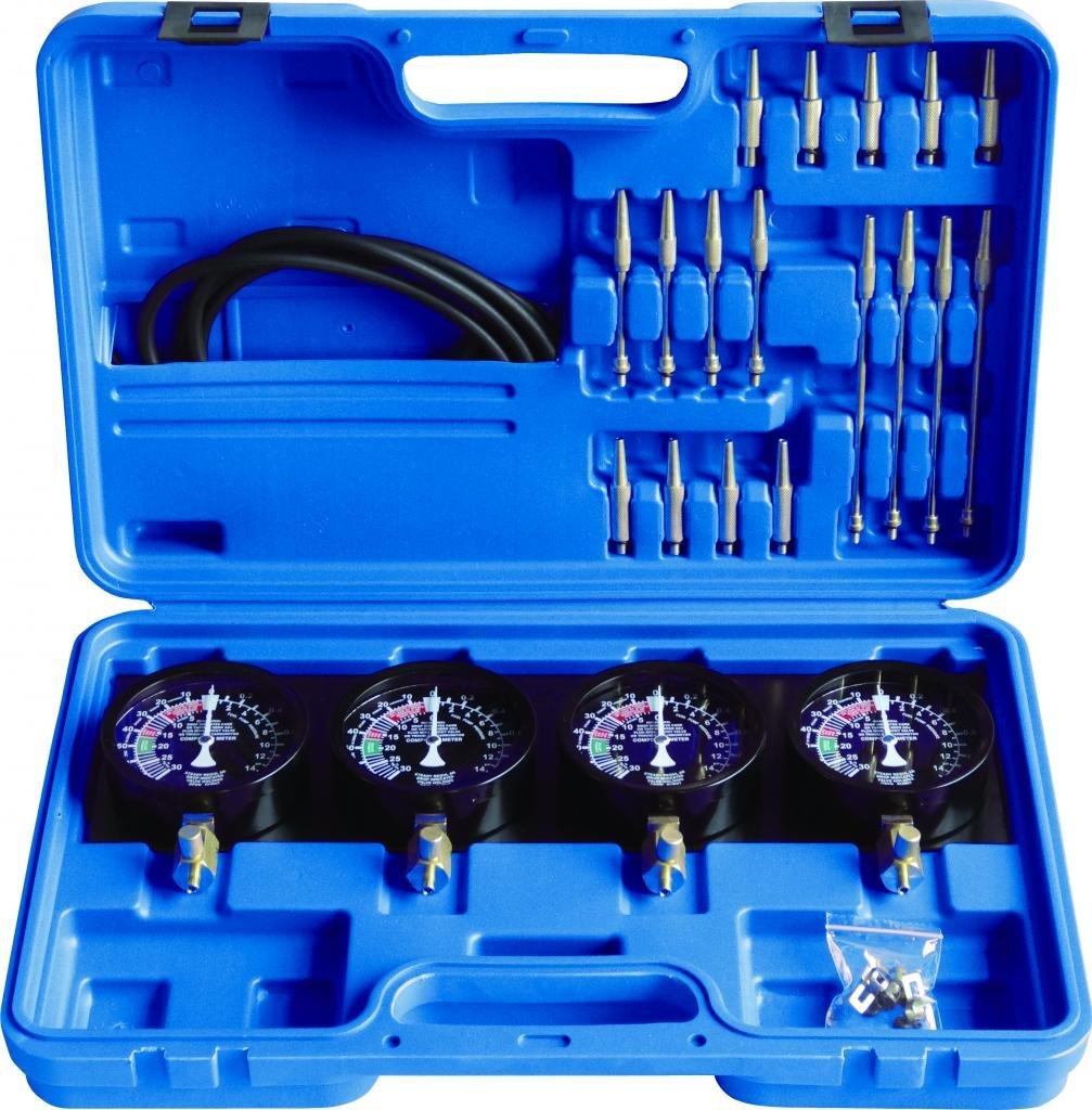 Generic Fuel Vacuum Carburetor Synchronizer carb sync Gauge Kit Rubber Hose