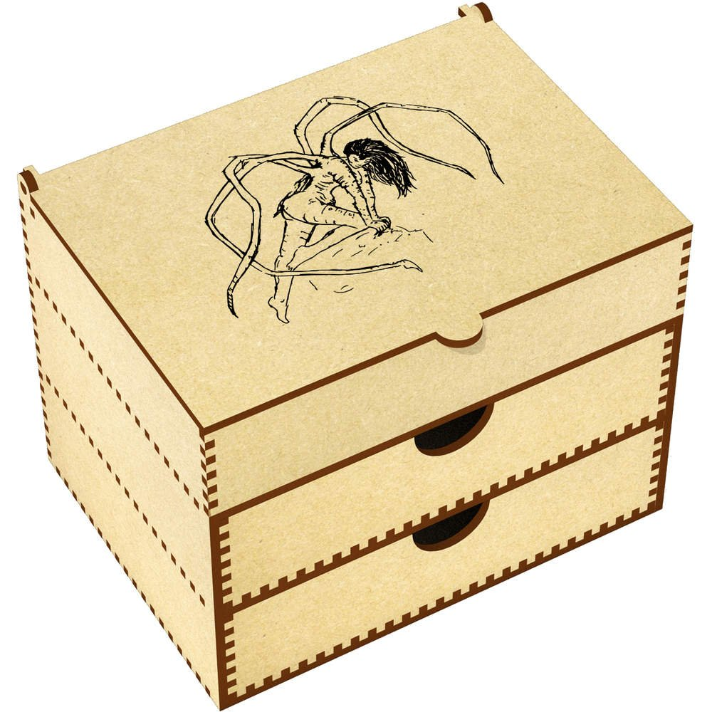 Azeeda 'Spider Woman' Vanity Case / Makeup Box (VC00000332)