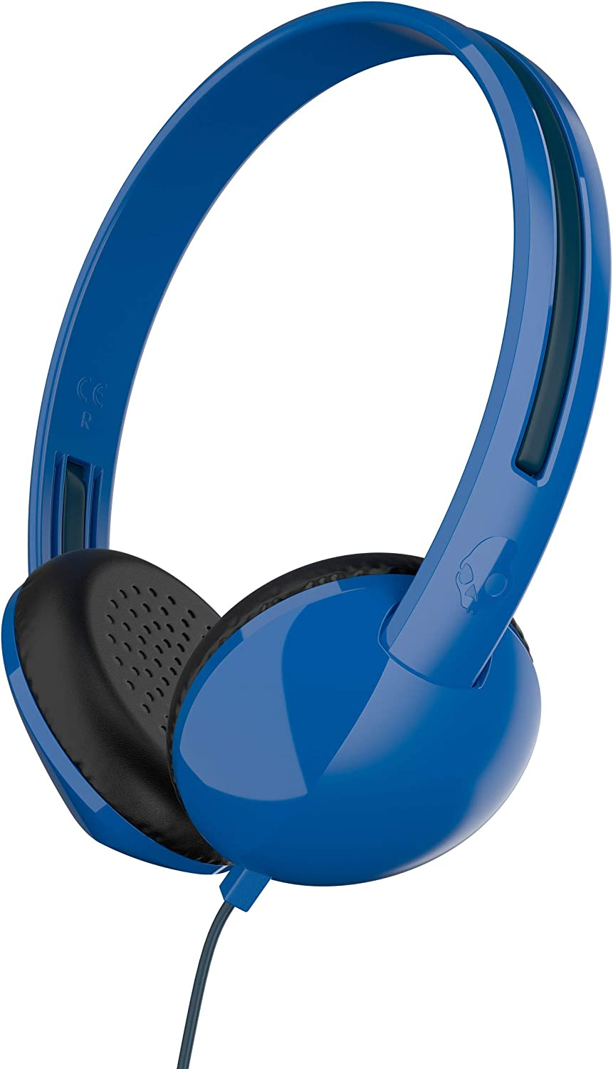 Skullcandy Stim On-Ear Headphones with Built-In Microphone and Remote, Supreme Sound Balanced Audio, Lightweight Design for Comfortable Fit, Blue