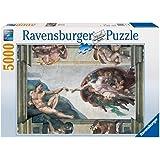Amazon piatnik world map metallic jigsaw puzzle 1000 pieces michelangelo creation of adam jigsaw puzzle 5000pc gumiabroncs Gallery