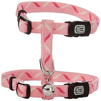 Catit Nylon Adjustable Cat Harness Small Pink