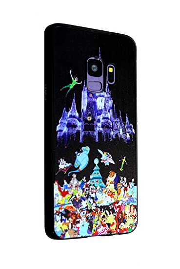 Galaxy S9+ Plus Case Princess Castle, IMAGITOUCH Anti-Scratch Shock Proof Clear Case Soft Touch Slim Fit Flexible TPU Case Bumper Cover for Galaxy S9 ...