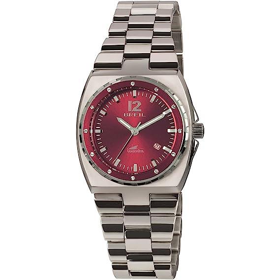 Breil Reloj Analogico para Mujer de Cuarzo con Correa en Acero Inoxidable TW1544: Amazon.es: Relojes