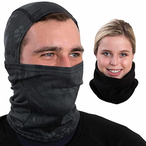 Máscara de esquí con calentador de cuello mejor Running ...