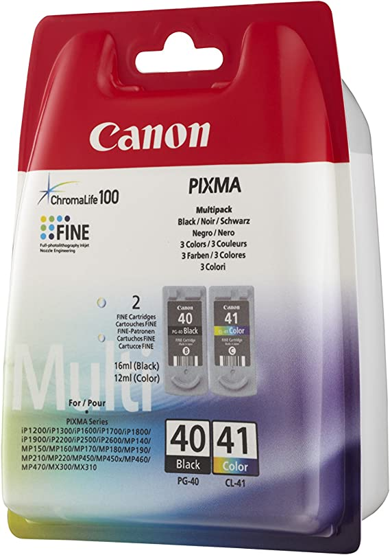 Canon Pg 40 Cl 41 Multi Pack Bürobedarf Schreibwaren