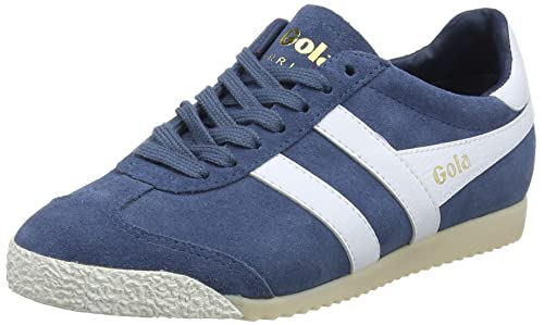 Gola Harrier 50 Suede Baltic/White, Zapatillas para Mujer: Amazon.es: Zapatos y complementos
