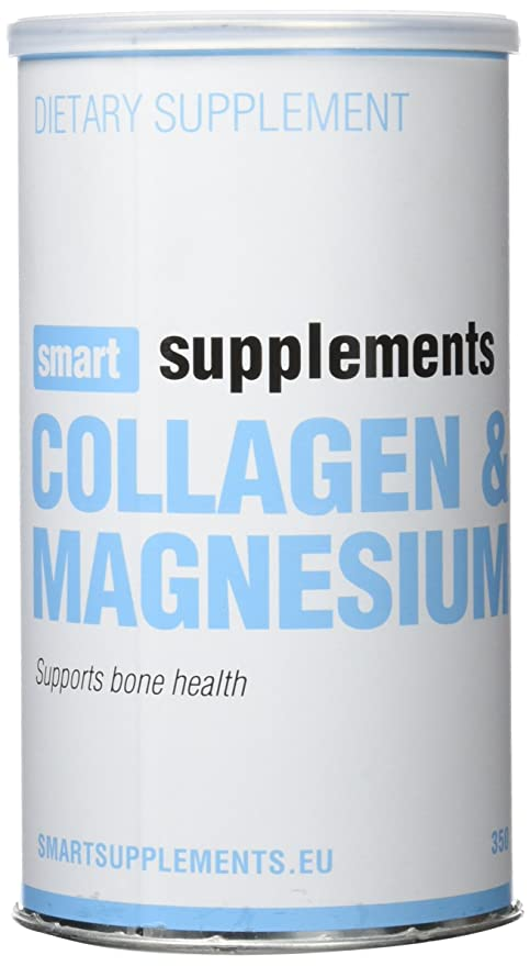 Smart Supplements Colágeno y Magnesio Suplemento - 350 gr
