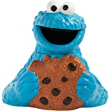 Vandor Sesame Street Cookie Monster Sculpted Ceramic Cookie Jar (32041)