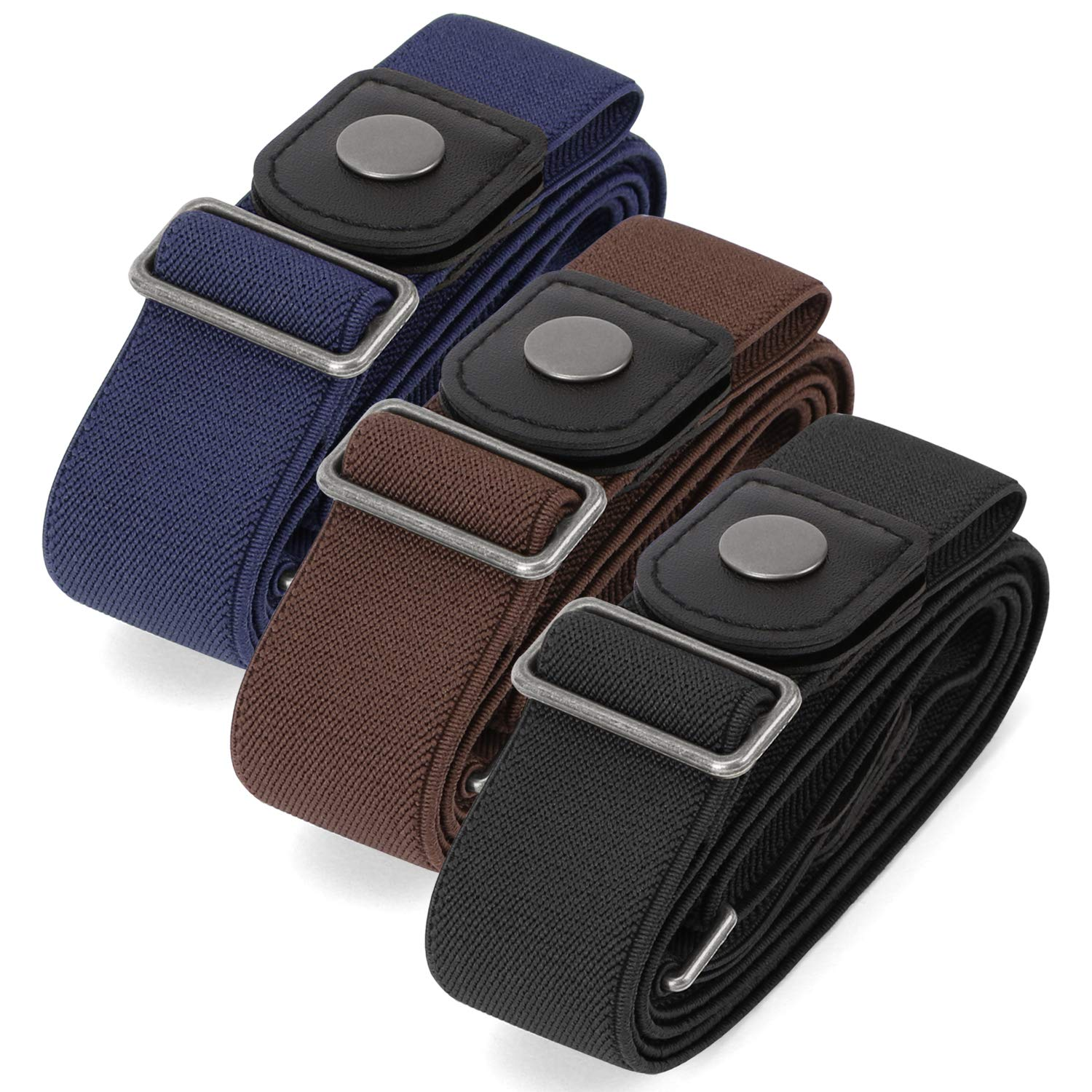 No Buckle Invisible Stretch Belt Buckle-FreeElasticBelt for Women