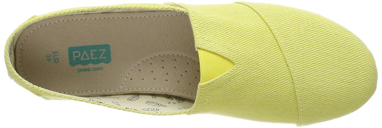 Paez Classic Essential Yellow Espadrilles Femme