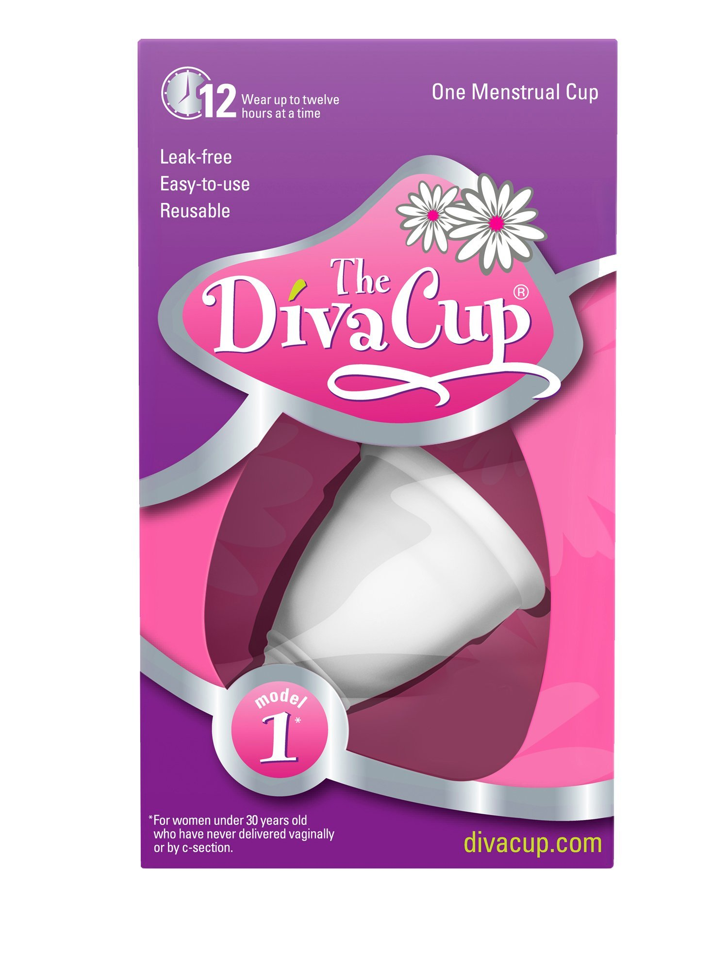 Diva Cup 1 Pre Childbirth (Packaging May Vary)