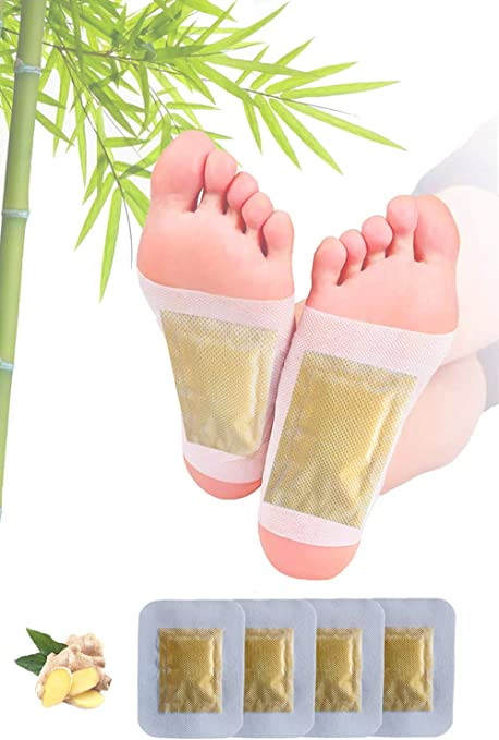 Amazon Com Ginger Foot Pads Ginger Pads Organic Herbal Ginger Pads For Better Sleep Swelling Foot Pain Relief And Body Cleansing Pure Natural Bamboo Vinegar And Ginger Powder Premium Ingredients 12 Pcs Health