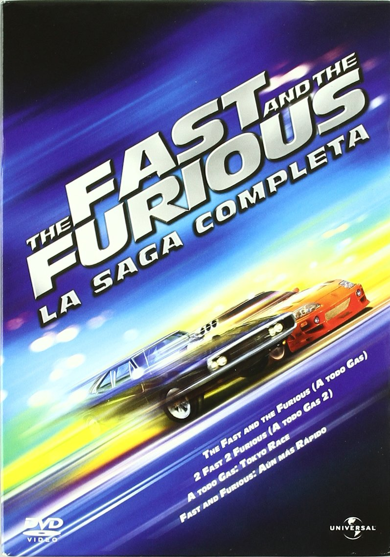 Pack The Fast And The Furious La Saga Completa Spain Importation Vin Diese Movies Tv