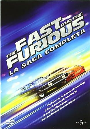 Pack The Fast and the Furious - La saga completa DVD: Amazon.es ...