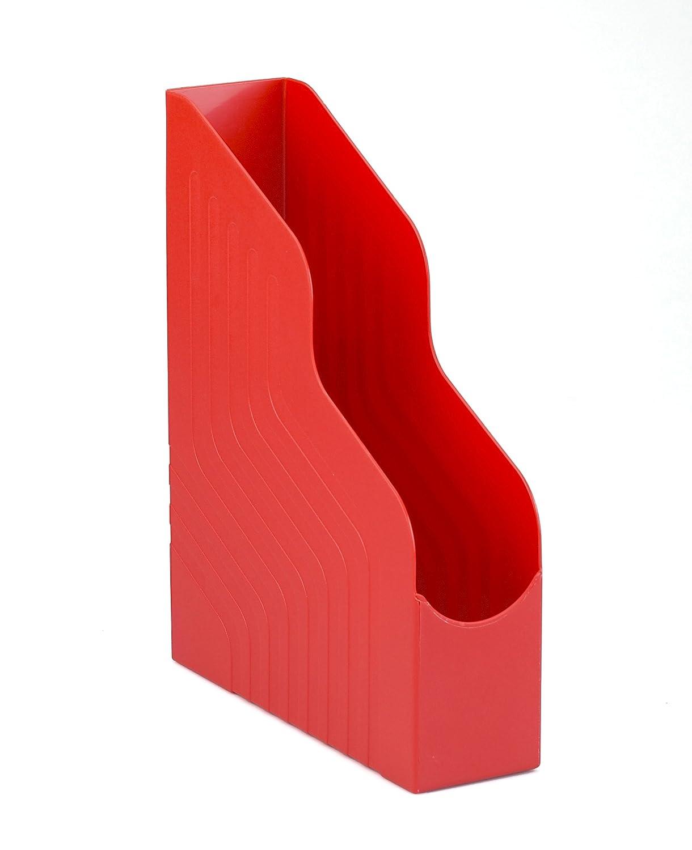 Rosso Dorso 10 cm Rexel 00049111 Magazine Rack Portariviste