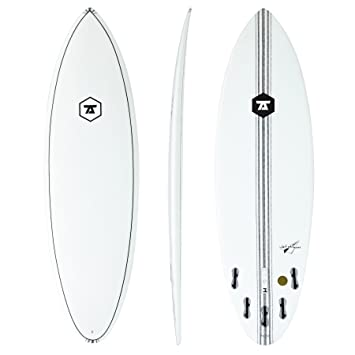 7S Jetstream Innegra Matrix FCS II - Tabla de surf (152 cm), transparente