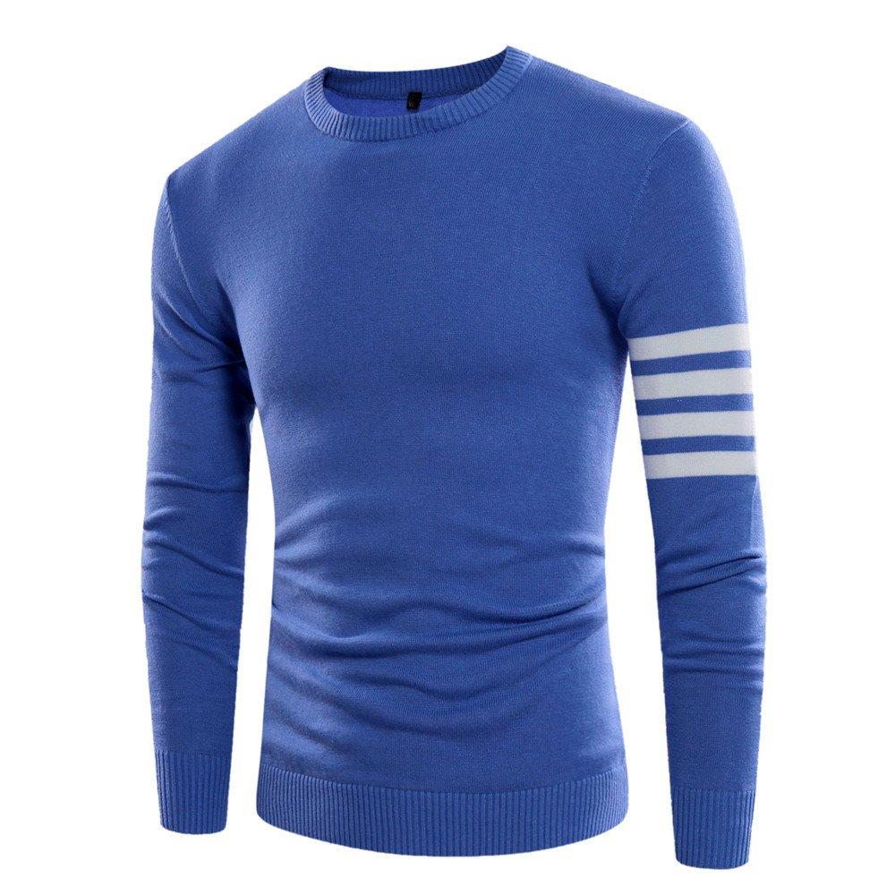 Männer - winter pullover mode männer pullover rollkragen - pullover,Blau,M