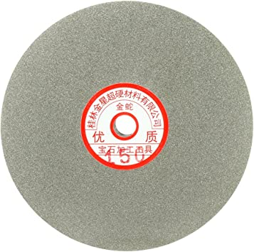 6-inch Grit 46 Diamond Coated Flat Lap Wheel Grinding Sanding Polishing Disc