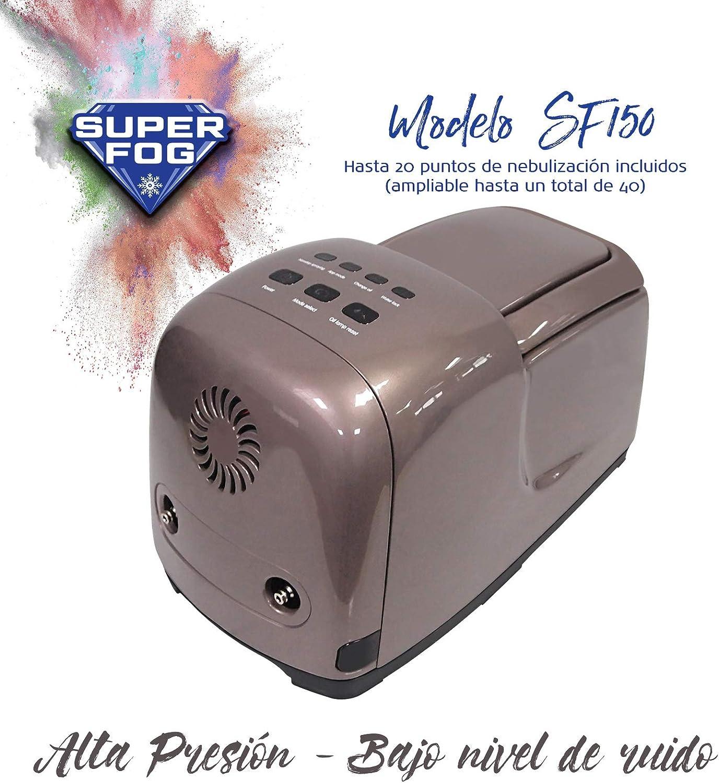 SUPERFOG Kit de nebulización con 40 Puntos de enfriamiento. DIY ...