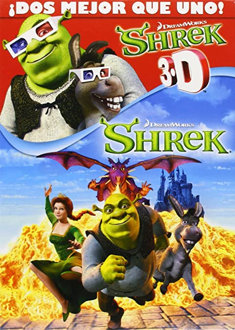 Shrek/ Shrek 3d - Pack 2 [DVD]: Amazon.es: Animación, Andrew ...