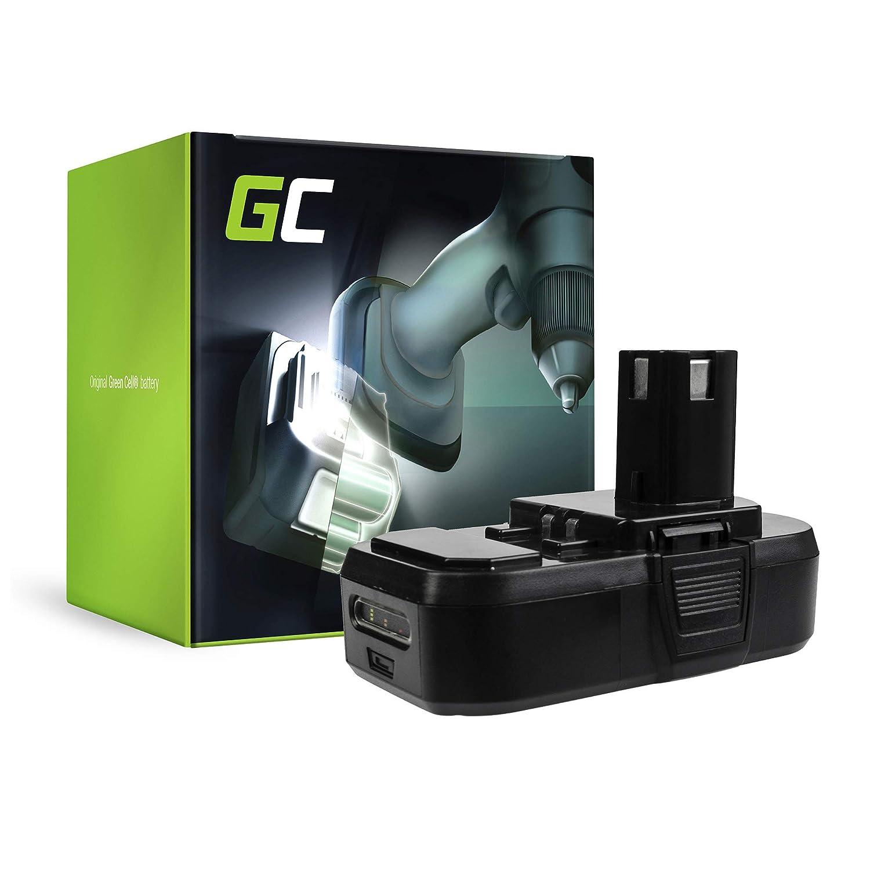 confortevole verde verde verde Cell® RBL1850S Utensili Elettrici Batteria per Ryobi (Panasonic Li-Ion celle 1.5Ah 18V)  nessun minimo