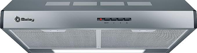 BOSCH - Campana Convencional Balay 3Bh263Mx Con 3 Niveles De Extracción: Amazon.es: Grandes electrodomésticos