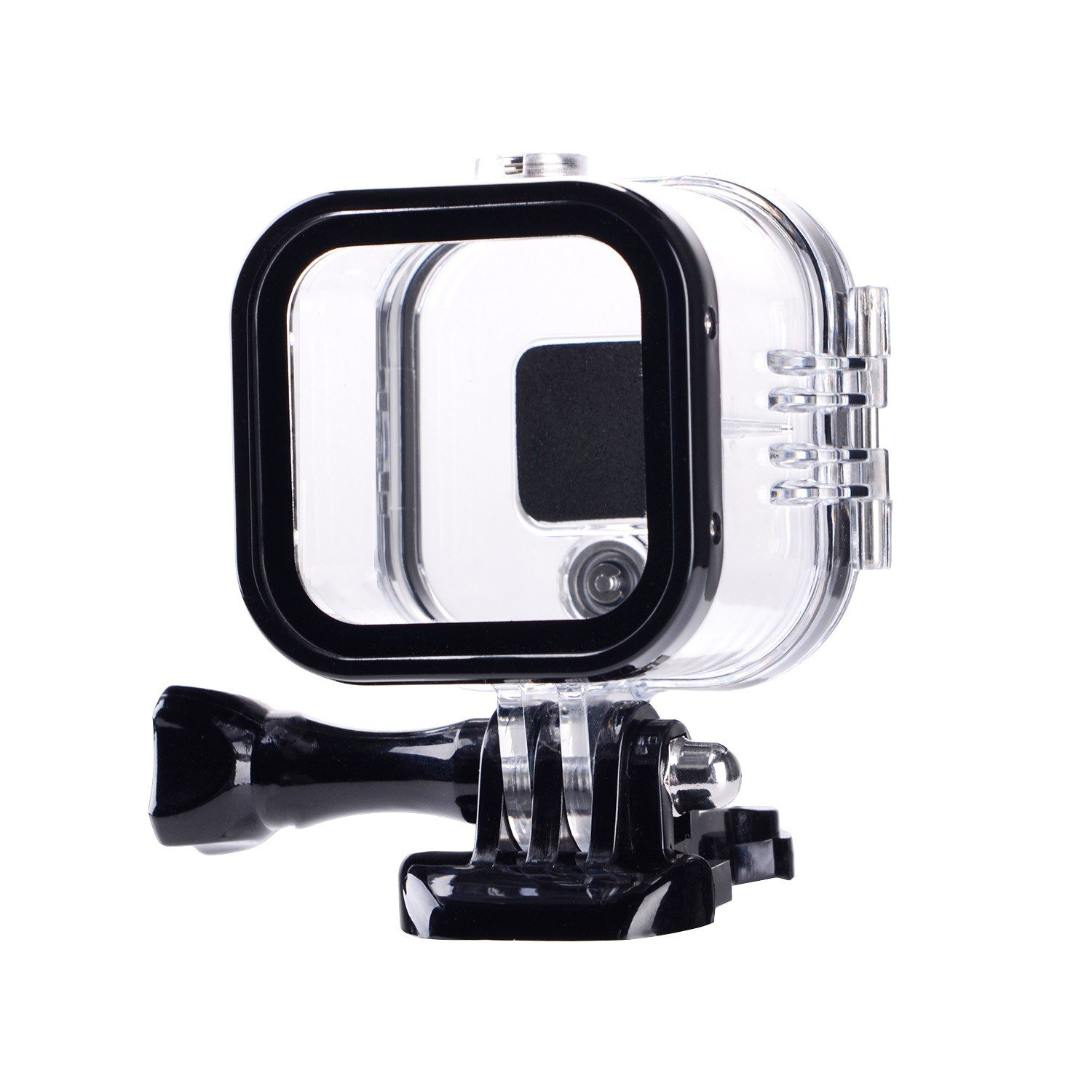 Suptig Replacement Waterproof Case Protective Housing for GoPro Session Hero 4session, 5session Outside Sport Camera for Underwater Use - Water Resistant up to 196ft (60m) RSX-232
