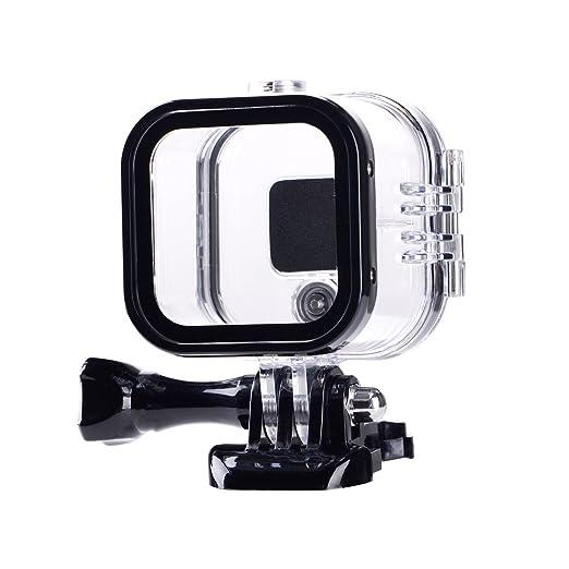 SupTig – Funda resistente al agua carcasa protectora para GoPro Hero 4session, 5session fuera deporte cámara para uso bajo el agua – Resistente al ...