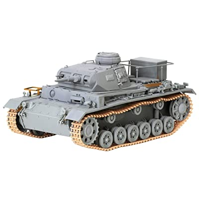 Dragon Models 1/35 DAK Pz.BEF.Wg.III Ausf. H Smart Kit Model Building Kits: Toys & Games