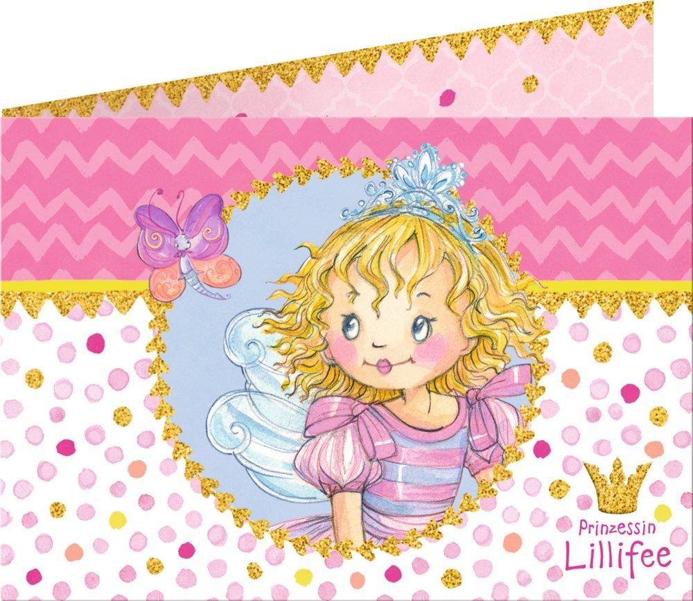 Juego de 16 invitaciones de cumpleaños Prinzessin Lillifee ...