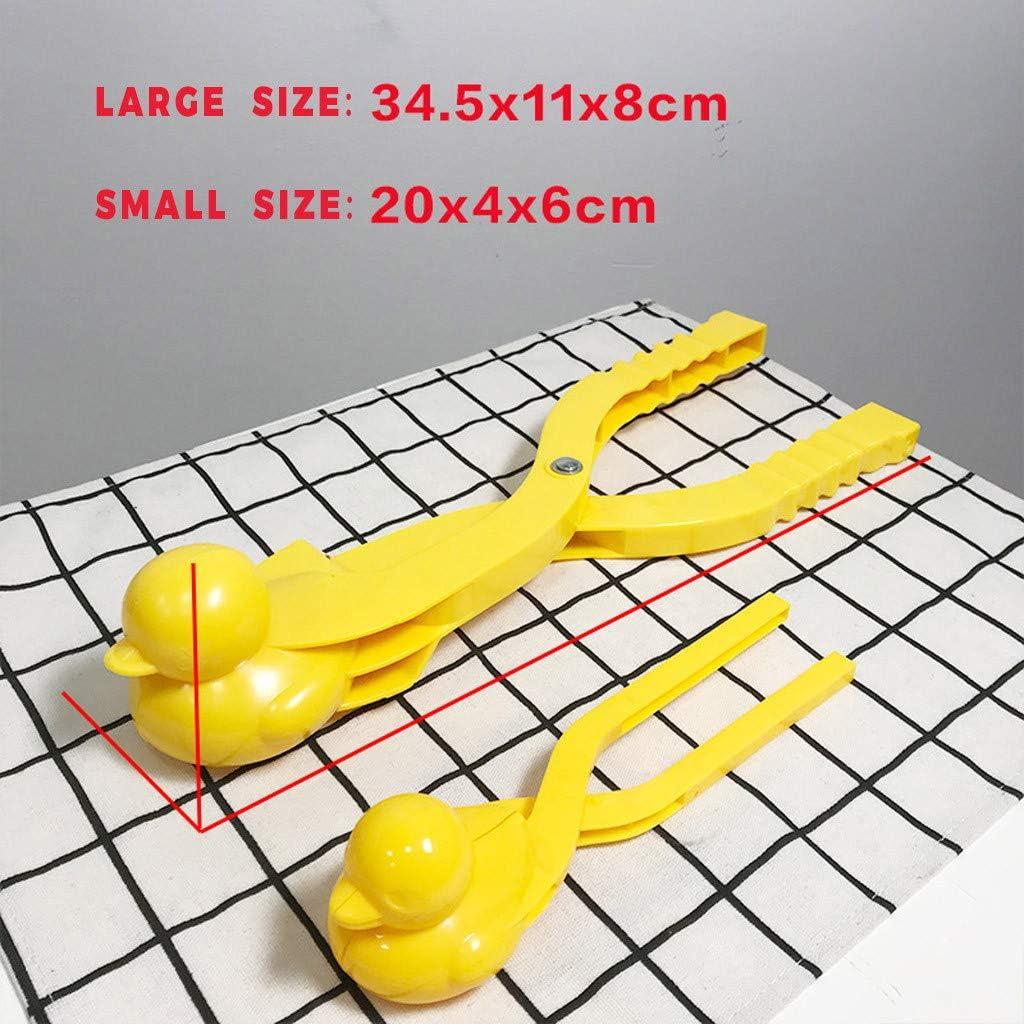 AMhomely/® Neu!Schneeball-Clip Gr/ö/ße L Ente Form Schneeballmacher Winter Schnee Scoop Clip Sand Tonformwerkzeug Kinder Spielzeug Rot, L