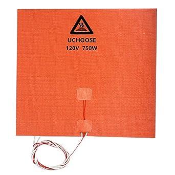 Amazon.com: Almohadilla calefactora 3D de silicona, placa ...
