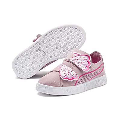 Puma Suede Deconstruct Butterfly Kids Mädchen Sneaker: Amazon.de ...