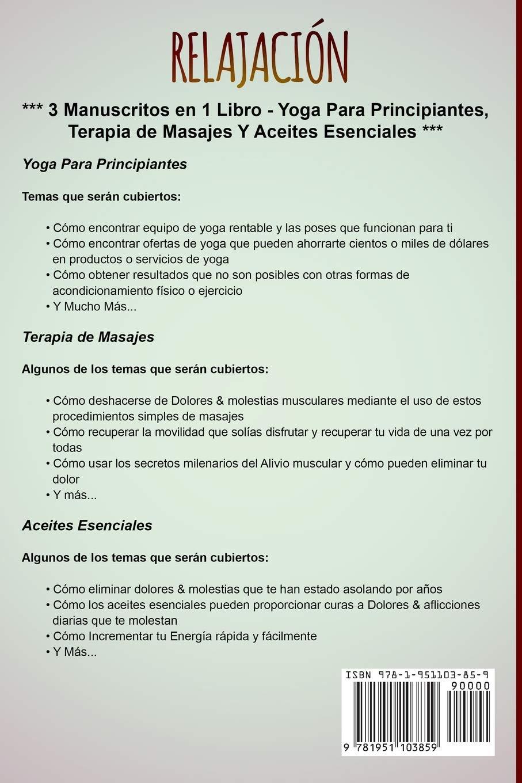 RELAJACIÓN: Una Guía Completa de Yoga Para Principiantes ...
