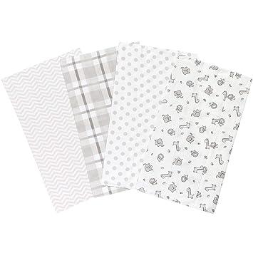 100 /% cotton flannel Flannel Burp Cloths