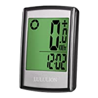 iBaseToy Bike Computer,Bike Odometer Cycling, Wireless Bicycle Speedometer Multi-Function Water Resistant with Digital LCD Display by LULULION