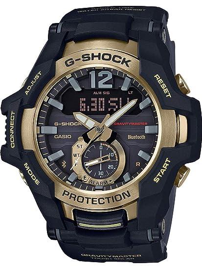 4ef43f1bf611 Casio G-Shock GRB100GB-1A GRAVITYMASTER Connected Solar Powered Watch