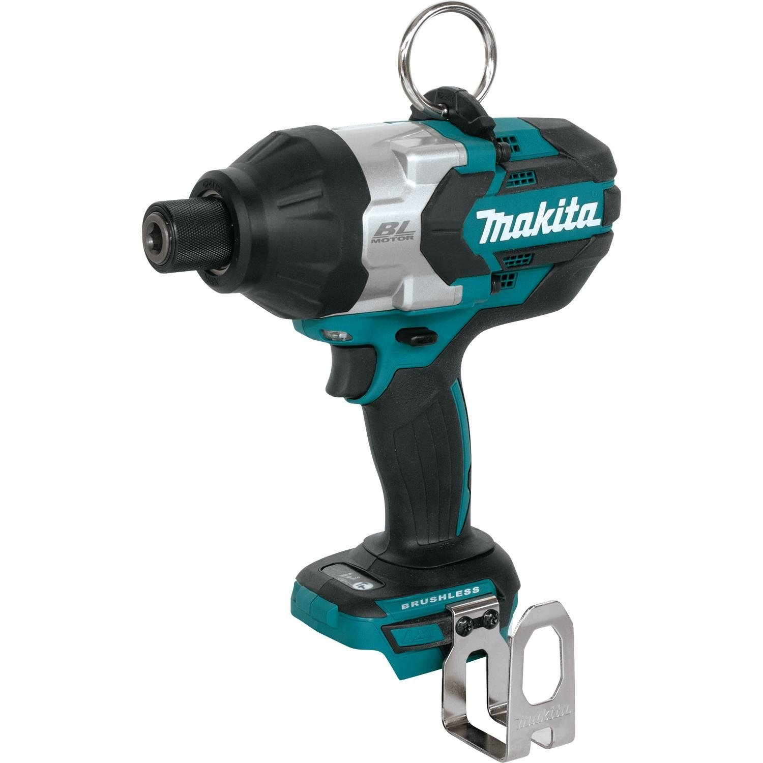 Makita XWT09Z LXT Lithium-Ion Brushless Cordless High Torque Hex Impact Wrench, 18V/7/16 by Makita B01CA04O7M