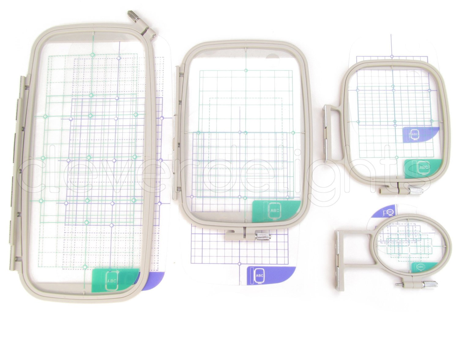 4-Piece Embroidery Hoop Set - Replaces SA442 SA443 SA444 SA445