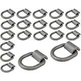 """Mytee Products (20 Pack) 1/2"""" Heavy Duty Weld-On Forged D Ring 12,000 Lbs"""