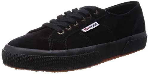 15b4ff46aa50a Superga 2750 Sueu, Unisex Adults' Low-Top Sneakers, Black (999 Black ...