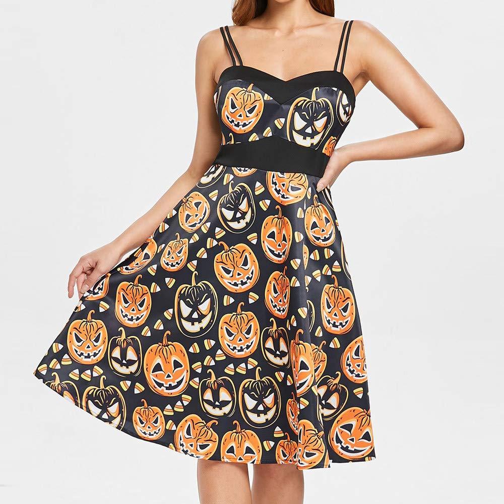 Vestido para Mujer Halloween Vestir Ropa Elegantes Dama Hombro ...