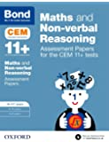 Bond 11+ Maths and Non-verbal Reasoning Assessment Papers for the CEM 11+ tests: 10-11+ years