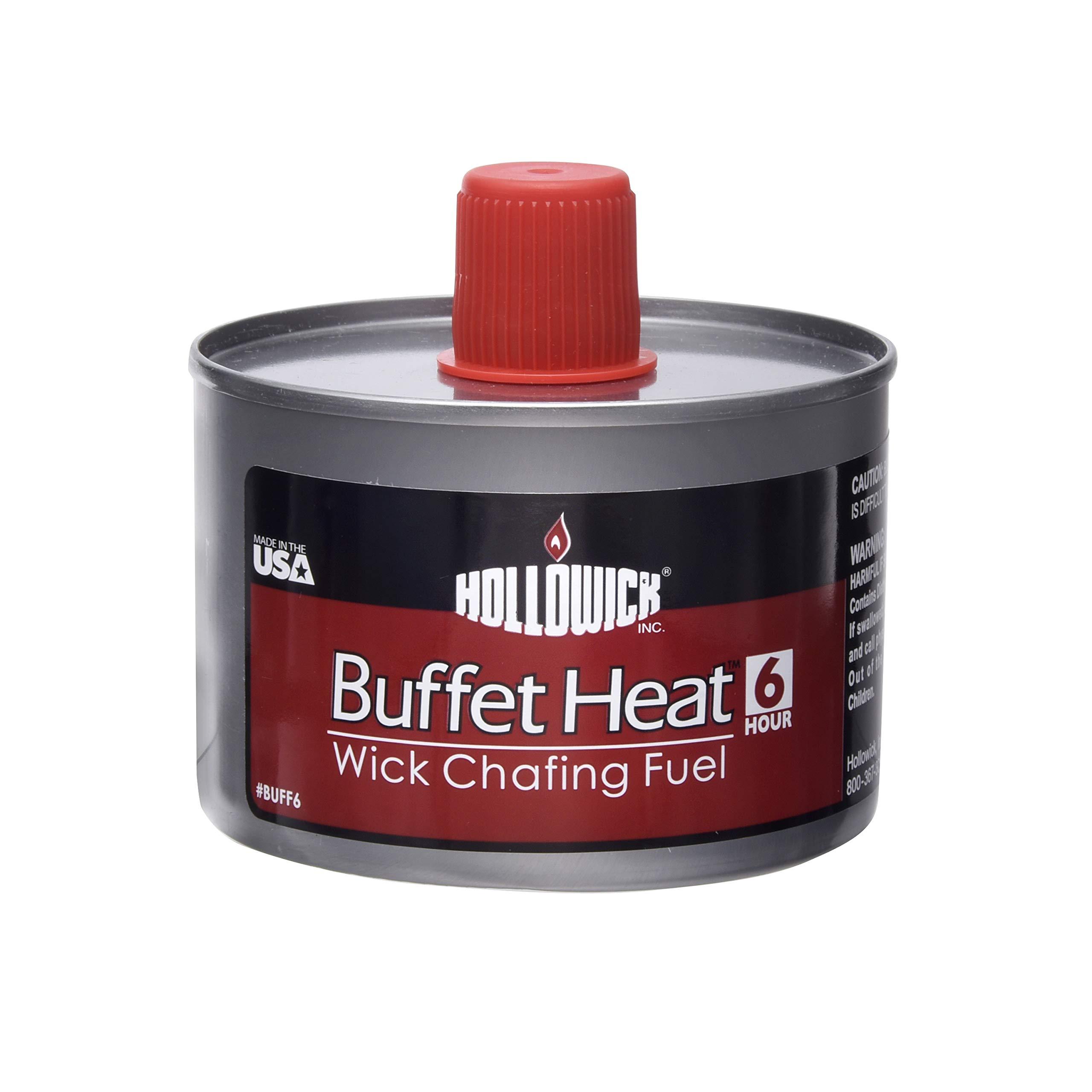 Hollowick BuffetHeat 6 Hour Liquid Wick Chafing Fuel (24/case)