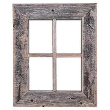 Amazoncom Old Rustic Window Barnwood Frames Not For Pictures By