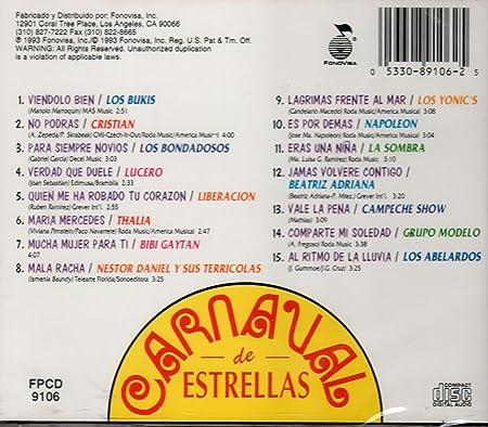 Carnaval De Estrellas: Various Artists: Amazon.es: Música