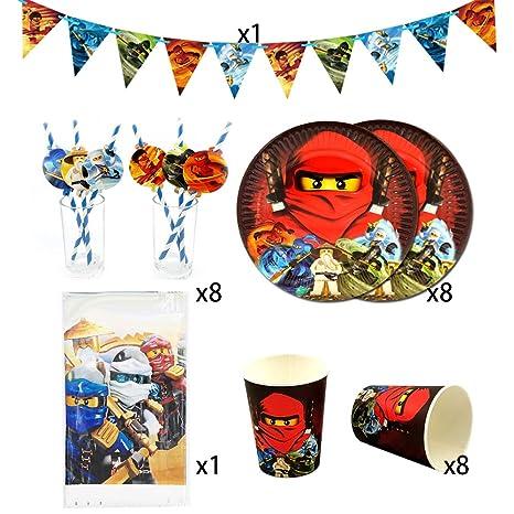Tazas desechables Suministros para fiesta Phantom Ninja 26 ...